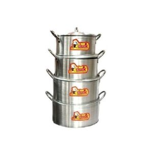 Picasso Picasso - 4 Sets Aluminium Pot Small{4A}